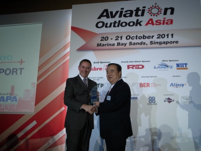 Ibaraki Airport named The CAPA Low Cost Airport of the year 2011