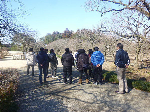 Group Tour was Conducted through Ibaraki-Seoul Chartered Flight.