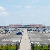広大な無料駐車場
