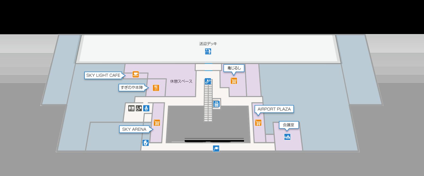 ターミナルビル2F