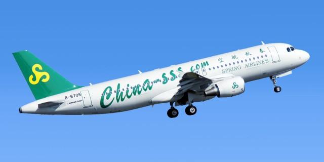 春秋航空 A320