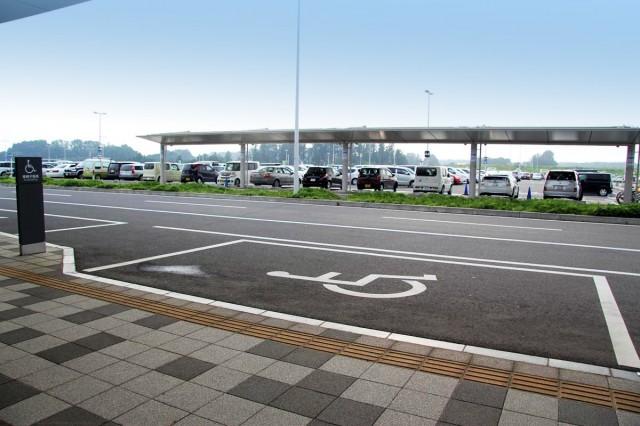 ターミナルビル前乗降場