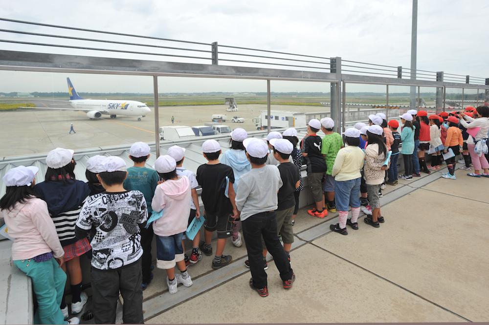 空港見学会