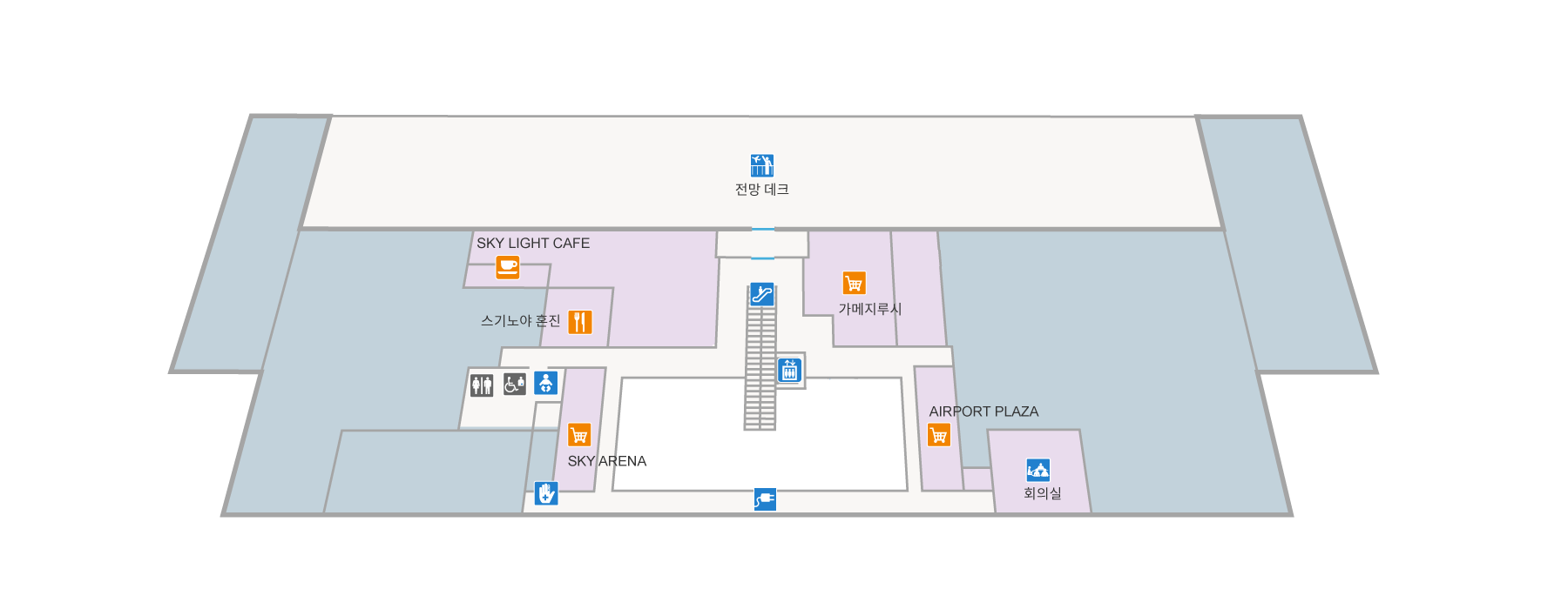 2층 편의시설 및 설비