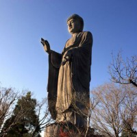 USHIKU DAIBUTSU (A HUGE STATUE OF BUDDHA)