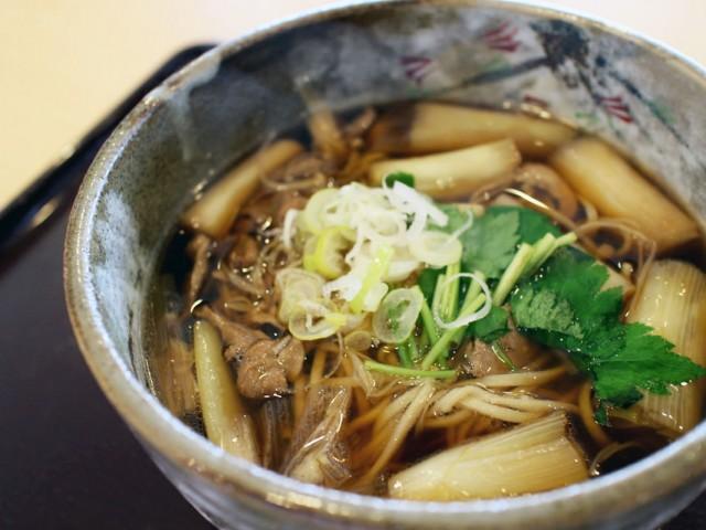 けんちんそばも人気メニュー。茨城の郷土料理です。