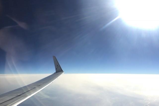 雲の上はとても気持ちがいいですよ!