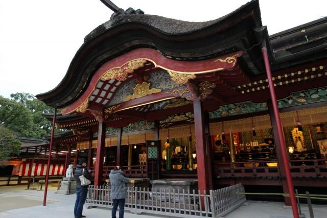 桃山時代の豪華な建築様式