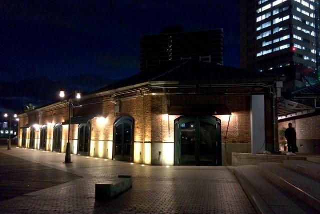 少し歩くと煉瓦倉庫も綺麗です