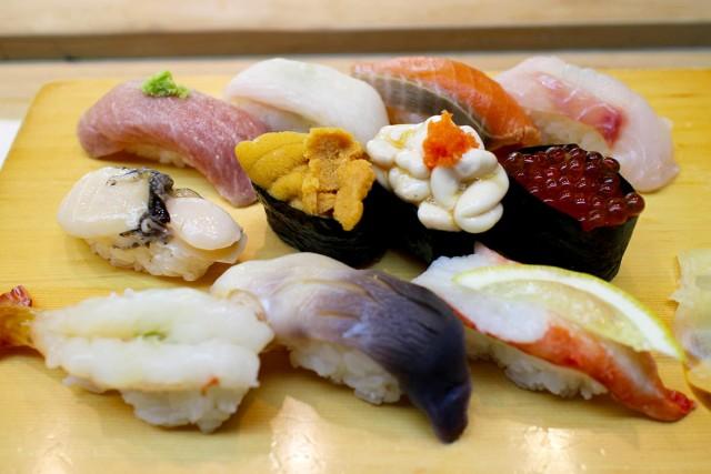 これは贅沢!な、お寿司セット