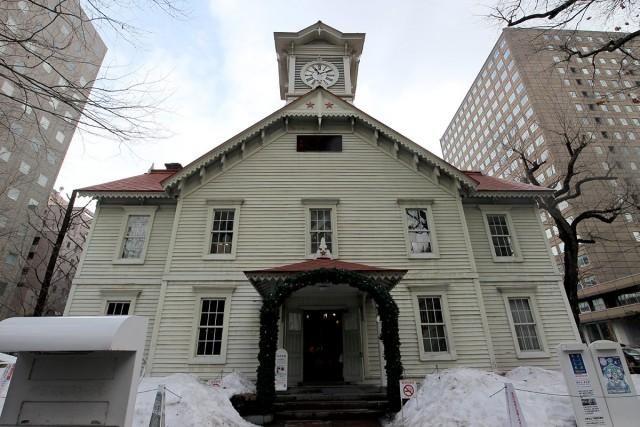 昼間の札幌時計台