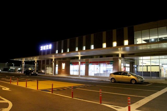 そのまま数分で駐車場へ。「すぐに帰れる」のも茨城空港の魅力ですね!