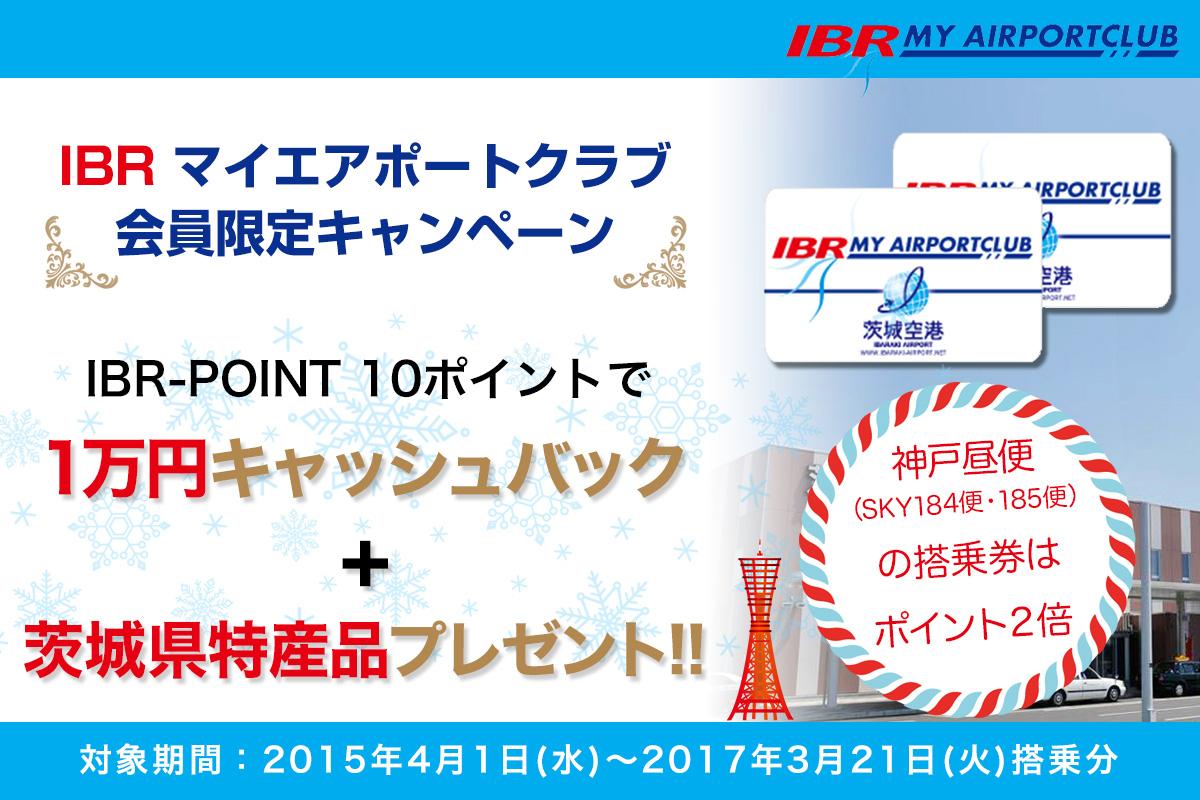 IBRポイントキャンペーン
