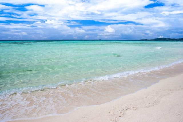 はての浜(久米島)