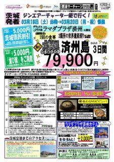 茨城-済州島観光付き