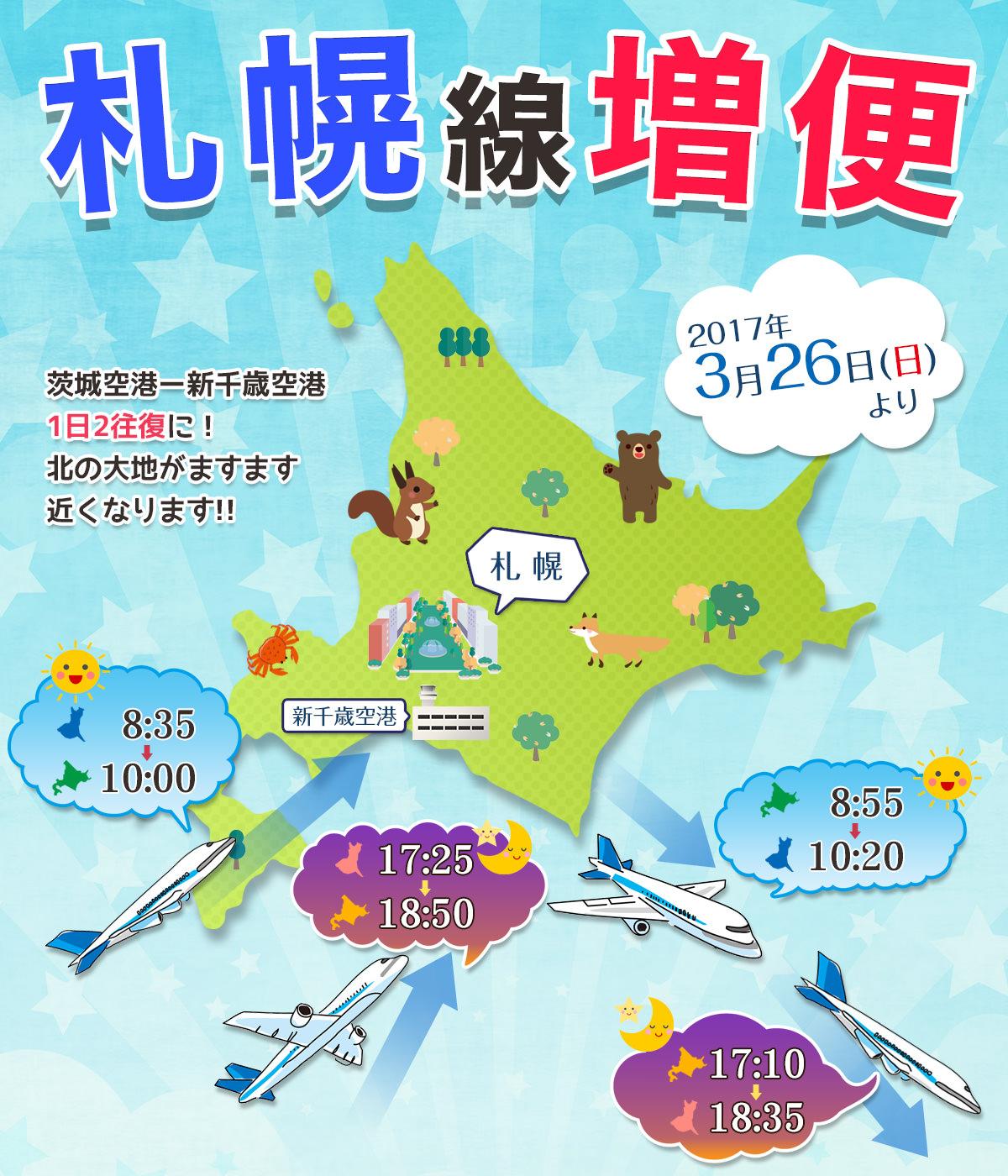 札幌線増便