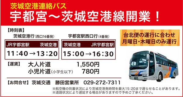 宇都宮バス開業