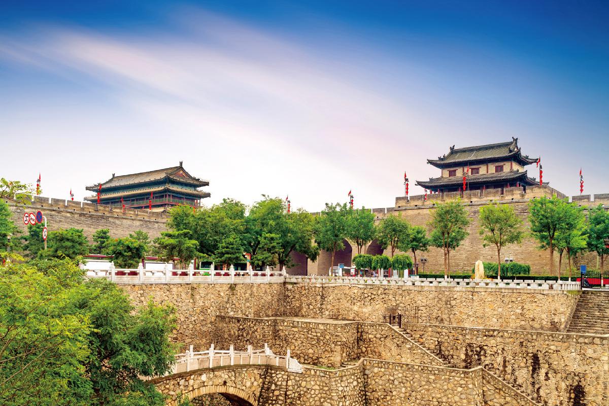 西安の城壁