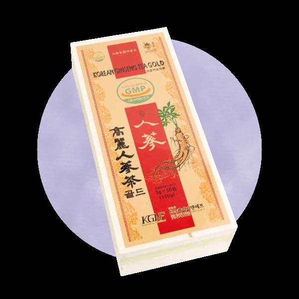 高麗人参茶gold