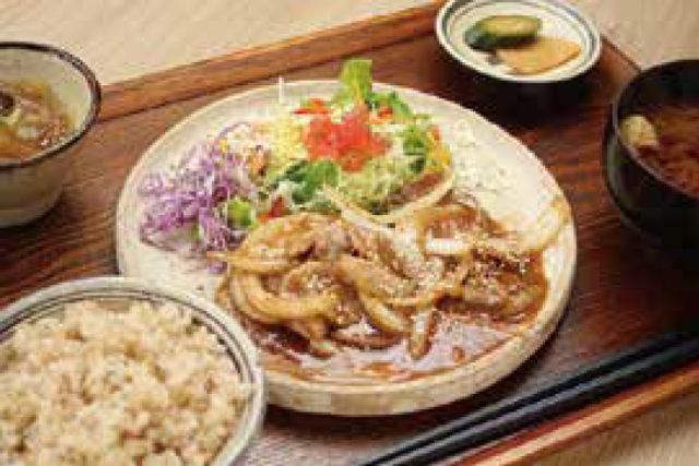 紅豚の味噌しょうが焼き定食