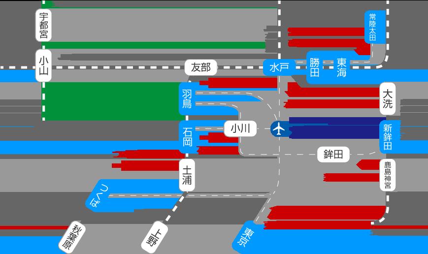 電車・バスアクセスマップ(日本語)